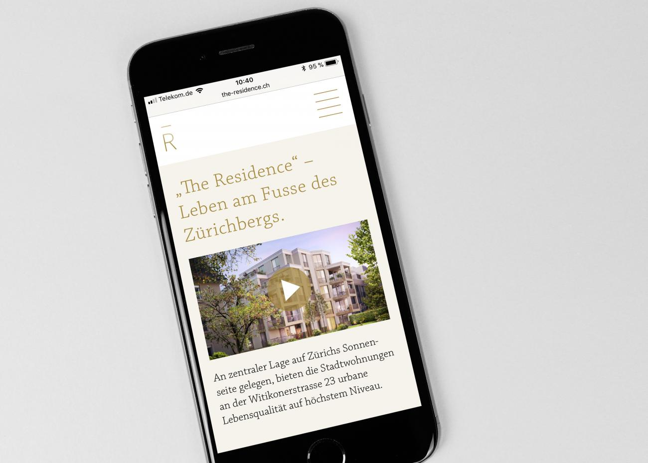 Immobilienwebsite – Smartphone-optimiert